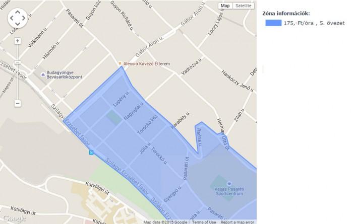 parkoló-zóna-információ